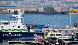 HMS Artful en Gibraltar. Foto Sergio Rodríguez