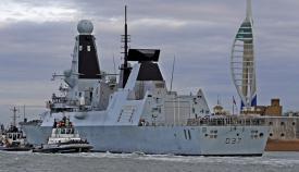 El HMS Duncan en imagen de archivo