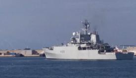 El HMS Entreprise, esta mañana en Gibraltar