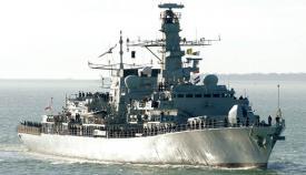Imagen de archivo del HMS Lancaster