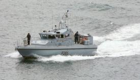 Una patrullera de la Royal Navy similar a la del último incidente