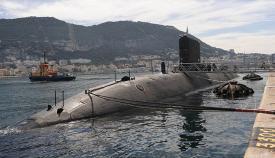 El HMS Talent en Gibraltar, en una imagen de archivo