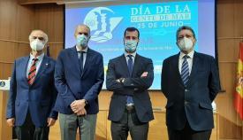 Mitma rinde homenaje a la gente de mar durante la pandemia en Algeciras