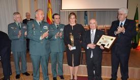 """La Asociación """"Círculo Ahumada Amigos de la Guardia Civil"""" celebró este pasado 15 de noviembre la XXXI Gala de Nombramiento de Socios de Honor en Madrid y concedió un homenaje al Guardia Civil Fermín Cabezas fallecido en acto de servicio en mayo"""