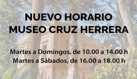 El nuevo horario del Museo Cruz Herrera de La Línea. Foto: NG
