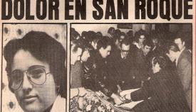 La prensa recogió ampliamente el asesinato de los «novios de Cádiz»