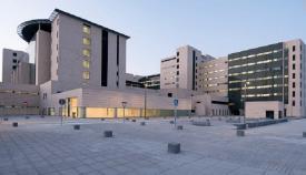 El hospital de La Línea, en una imagen exterior