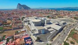 Imagen aérea del hospital de La Línea. Foto: Junta de Andalucía
