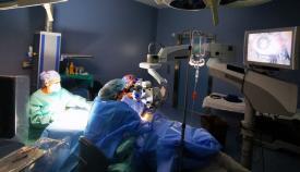 Un momento de la actividad celebrada en el hospital de La Línea. Foto: SAS