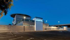 Imagen del nuevo hospital de La Línea