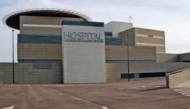 Una imagen de archivo de la fachada del Hospital Comarcal de La Línea