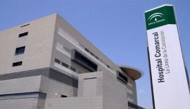 Fachada principal del Hospital de La Línea. Foto: NG