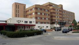 Imagen del antiguo hospital de La Línea