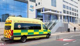Hospital San Bernardo de Gibraltar. Foto SR
