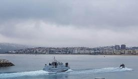 El HMS Scimitar entra en Tánger. Foto InfoGibraltar