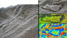 Una de las huellas identificadas por los científicos en Gibraltar