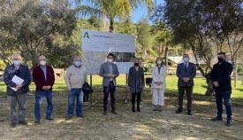 Las autoridades han visitado las obras finalizadas. Foto: Junta Andalucía