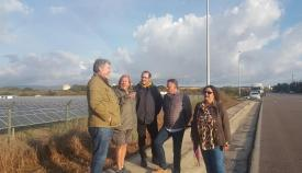 Unidas Podemos reivindica una reindustrialización verde de la comarca