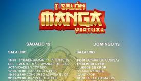 El I Salón del Manga Virtual de Algeciras se presenta lleno de actividades