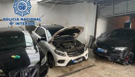 Desmantelan en Algeciras un punto de vehículos para el transporte de hachís