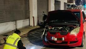 Imagen del vehículo afectado. Foto RGP