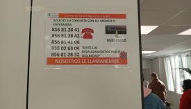 Vox Algeciras pide al PP que solucione el colapso en los centros de salud