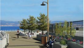 Imagen virtual del nuevo proyecto entre Camp Bay y Little Bay