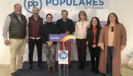 Dirigentes del PP en el Campo de Gibraltar
