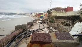 Verdemar denuncia la pérdida de cientos de hectáreas de playa en Algeciras