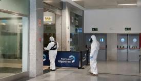 La estiba retoma su actividad en Algeciras tras el fallecimiento de un trabajador