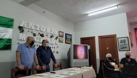 El colectivo 'Estrechando' rinde homenaje a la figura de Antonio Machado