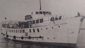 La prensa recogía la última singladura del Punta Europa