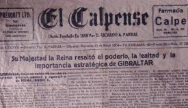 La prensa gibraltareña destacó la histórica visita