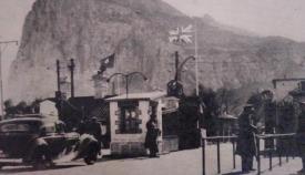La frontera desde La Línea en 1965