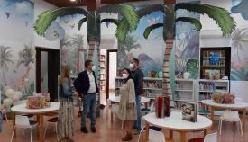 La nueva sala infantil de la Biblioteca de La Línea. Foto: lalínea.es