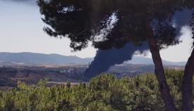 El incendio de Indorama ha activado las movilizaciones de Verdemar