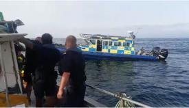 Patrullera de la policía de Gibraltar envuelta en la agresión denunciada por pescadores españoles