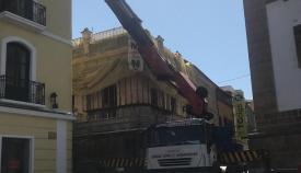 """Las obras de rehabilitación de la """"Casa Millán"""" siguen su curso"""