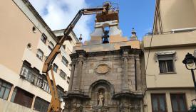 La capilla de Europa se pone 'guapa' para sus actos de este viernes