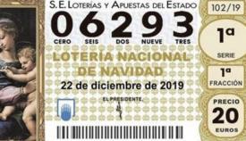 Algeciras, premiada con el quinto premio de la Lotería de Navidad