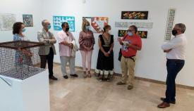 """Inaugurada la exposición """"Con razones de papel"""" de Ireneo Ruiz"""