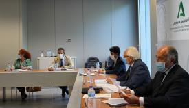Landaluce destaca la apuesta de la Junta para las mejoras en la comarca