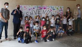 El alcalde de Algeciras inaugura el curso escolar en el Colegio Tartessos