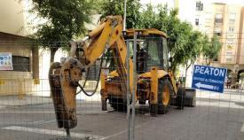 Las obras ya han comenzado por parte del Ayuntamiento de La Línea