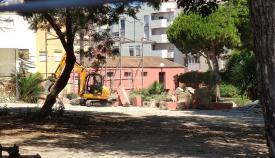 Una imagen de los trabajos ya iniciados. Foto: lalínea.es