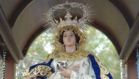 Imagen de la Inmaculada Peregrina de La Línea