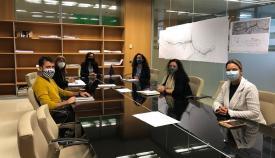 El Ayuntamiento de Algeciras asesora al centro ocupacional Puerta Europa