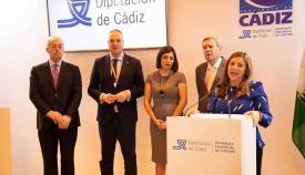 Irene García es la presidenta de la Diputación de Cádiz