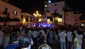 Un momento de la IV Noche Blanca celebrada en San Roque en 2018