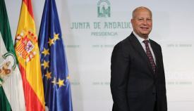 Javier Imbroda, consejero de Educación de la Junta. Foto: NG
